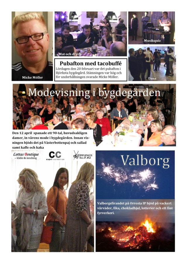 Infoblad 2 maj 2016