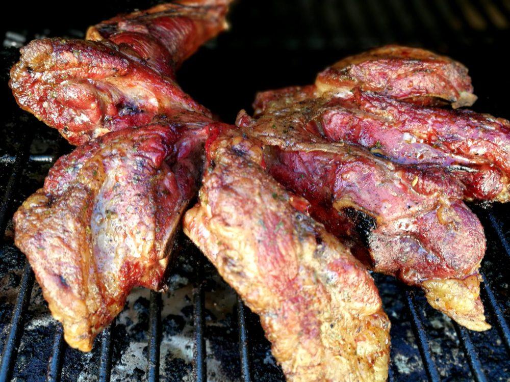Lammebog, villsau, pulled lamb, barbecue lam