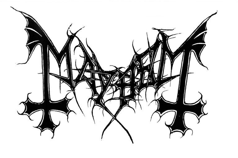 Mayhem er grunnleggerne av den norske svartmetallen. Og få band har hatt en så dramatisk historie. Illustrasjon: Mayhem