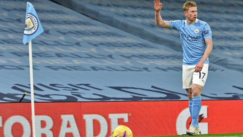 Coup dur pour Manchester City et De Bruyne