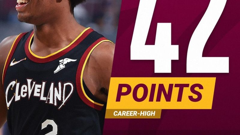 NBA : Sexton met à genou le trio des Nets et les résultats des 8 autres matchs de la soirée