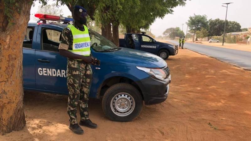 Opération de sécurisation : la Gendarmerie envahie les axes Nianing, Mbour, Somone, Nguékhokh, Nguaparou a la recherche des malfrats