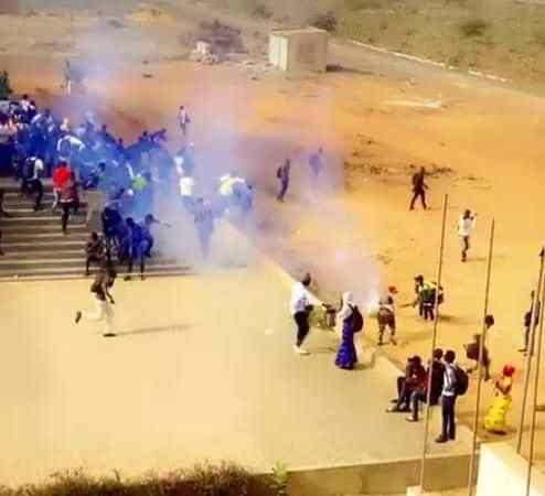 Diamniadio : plus de 36 étudiants de l'ISEP arrêtés et torturés par la gendarmerie