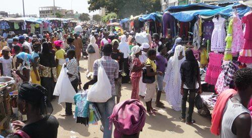 Marché «Okass» de Touba :  une dame arrêtée pour vol de 3 coupons de bazin pour la tabaski