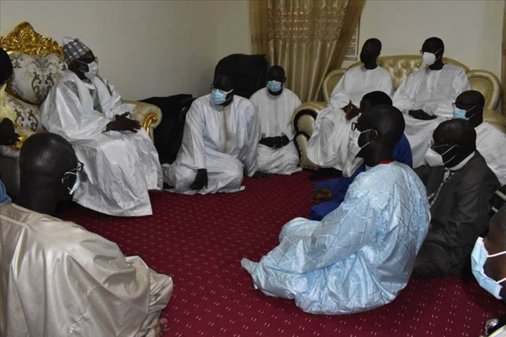 Décès du Khalife des Baye Fall: le ministre de l'Intérieur présente les condoléances du chef de l'État à Touba