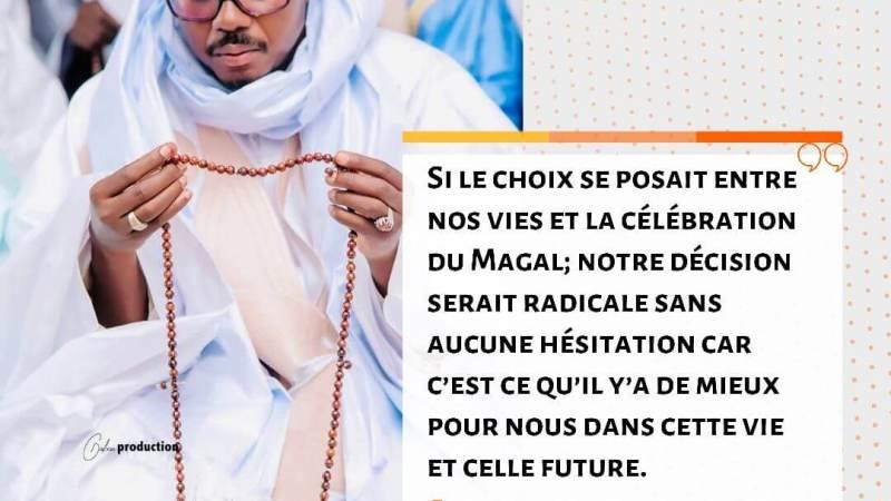 Serigne Bass sur l'organisation du Magal : nous préférons mourir que de ne pas célébrer le Ndigël de Serigne Touba