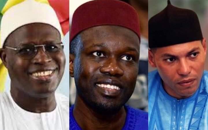 Alliance « calculée et politicienne » : Thierno Bocoum blâme Sonko, Khalifa Sall et Karim Wade