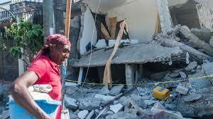Séisme en Haïti : la course contre la montre continue dans la ville des Cayes