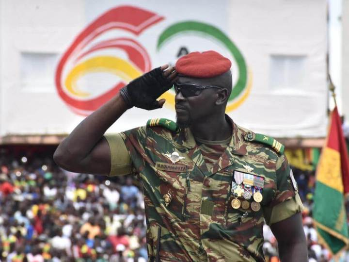 Portrait   Mamady Doumbouya, ce colonel invulnérable qui a fait tomber Alpha Condé