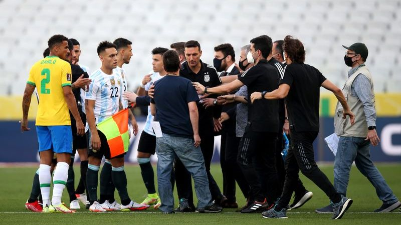 Football : le match Brésil-Argentine suspendu en raison d'un imbroglio concernant le protocole anti-Covid