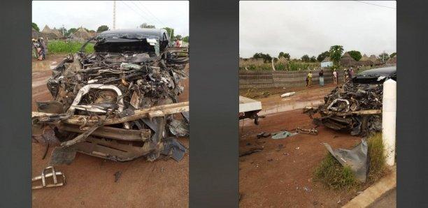 Accident de Moustapha Guirassy : son chauffeur a succombé à ses blessures