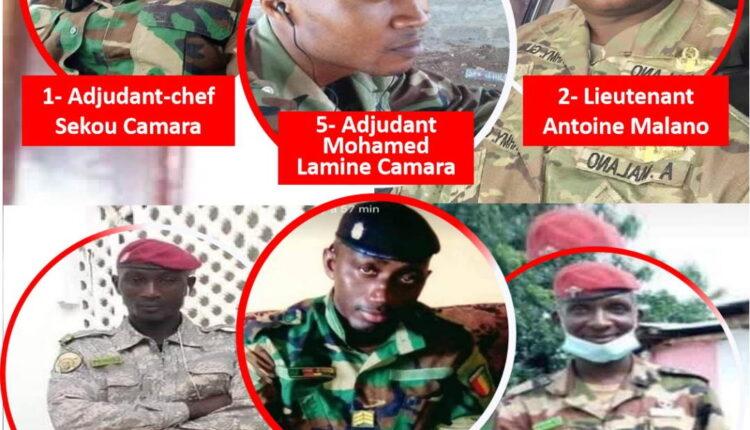 Guinée : au moins 8 éléments de la garde présidentielle tués par la junte militaire