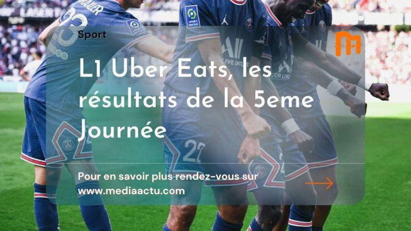 Ligue 1 : le PSG consolide son fauteuil de leader avec un but de Gana Guèye, l'OM et Bamba rendent « dieng » l'AS Monaco, Lyon enchaîne face à Strasbourg … Le résumé de la 5e journée de Ligue 1