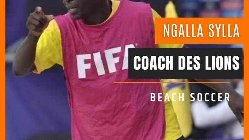 Interview   Ngalla Sylla le châtelin de l'équipe nationale des Lions de Beach soccer