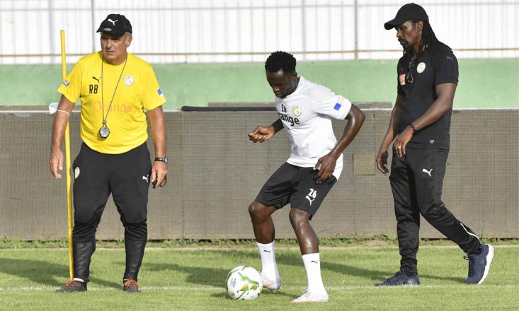 Aliou Cissé sur Moutarou Baldé : « C'est à lui de s'accrocher pour rester dans le groupe »
