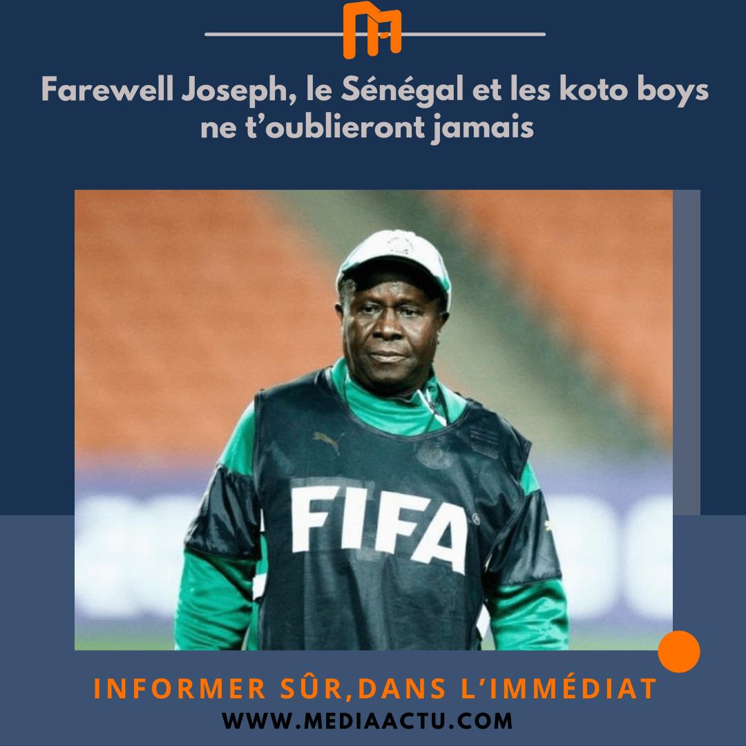 Nécrologie : décès de l'entraîneur sénégalais Joseph Koto