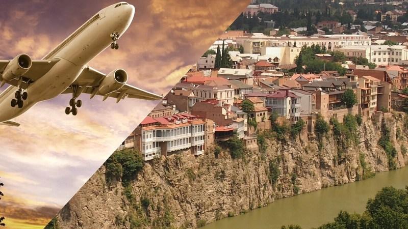 Самолет над Тбилиси