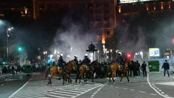 Беспорядки в Белграде
