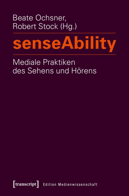 Bild zeigt Buchcover. Weiße und orangene Schrift vor lila Hintergrund