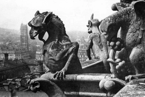 gargoyles of notre dame via catholicgentleman.net