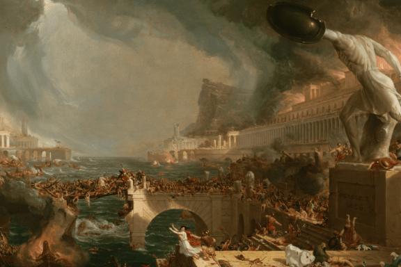 Babylon-1536x815-The Destruction of Empire by Thomas Cole via crisismagazine.com