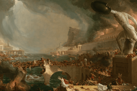 Babylon-1536x815-The Destruction of Empire by Thomas Cole via crisismagazine.com