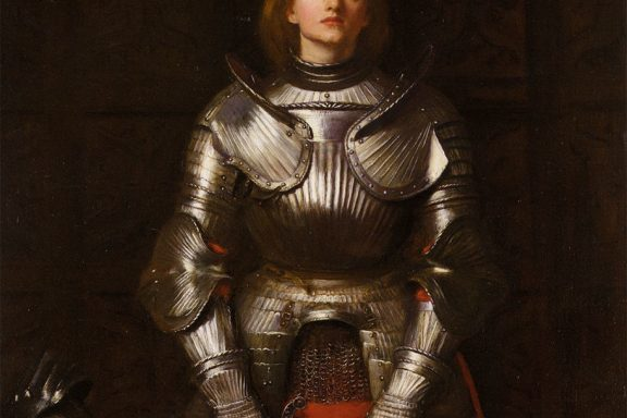 https://commons.wikimedia.org/wiki/File:John_Everett_Millais_-_Joan_of_Arc.jpg