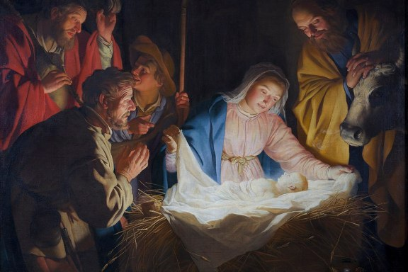https://upload.wikimedia.org/wikipedia/commons/thumb/9/95/Adoration_of_the_shepherds%2C_by_Gerard_van_Honthorst.jpg/1215px-Adoration_of_the_shepherds%2C_by_Gerard_van_Honthorst.jpg