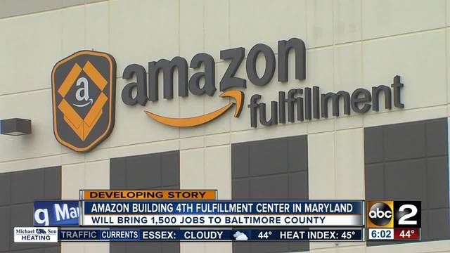 New Amazon fulfillment center coming to Sparrows Point