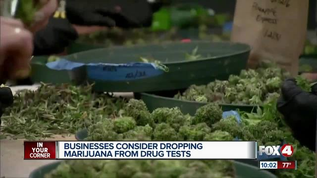 Image result for Businesses drop marijuana from drug test requirements