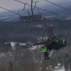 Ski Chair Lift Malfunction Windsor Dining Chairs Leaves Riders Hanging For Hours - Ktnv.com Las Vegas