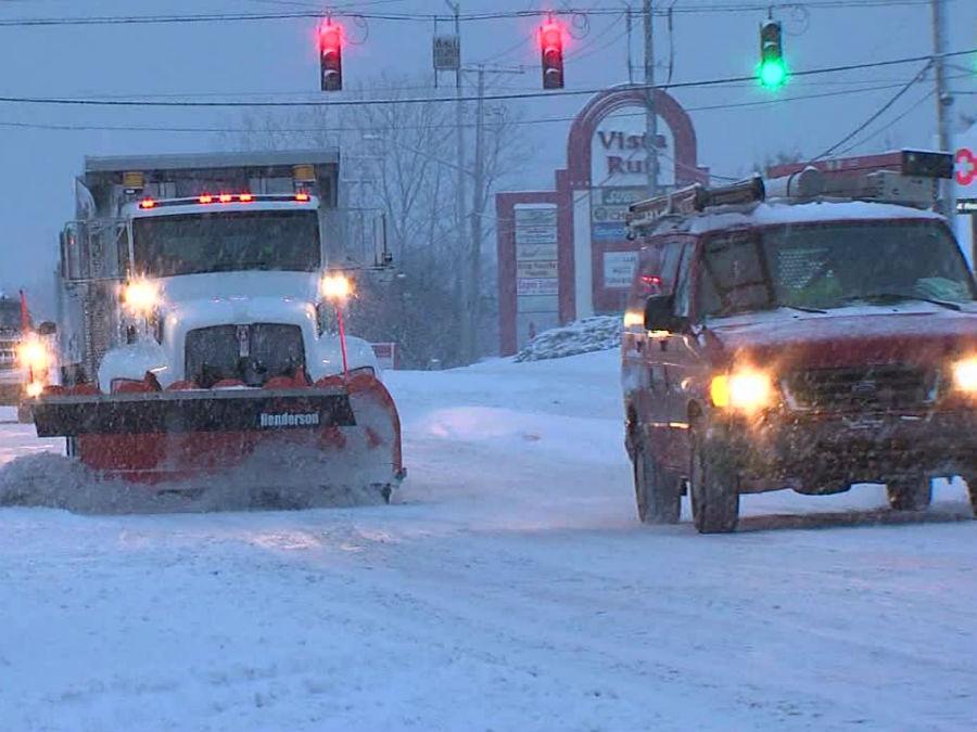 Huntington Indiana Snow