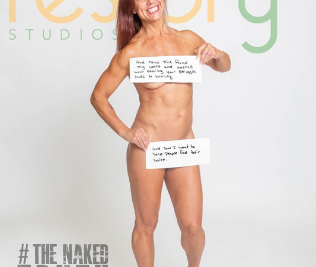 Mindy Bittner Poses For The Naked Truth Project Photo Provided By Restory Studios