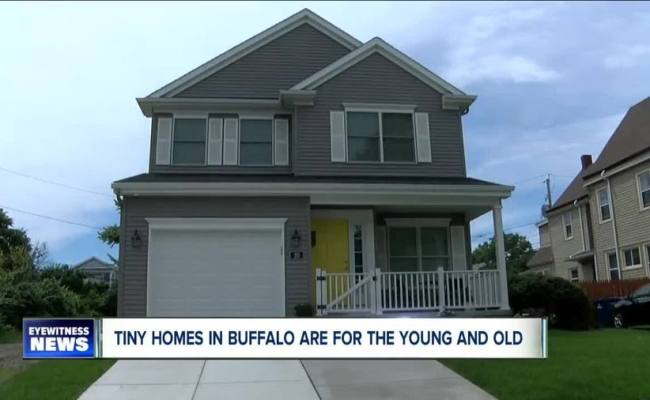 Tiny Homes In Buffalo Are Built For The Young And Old