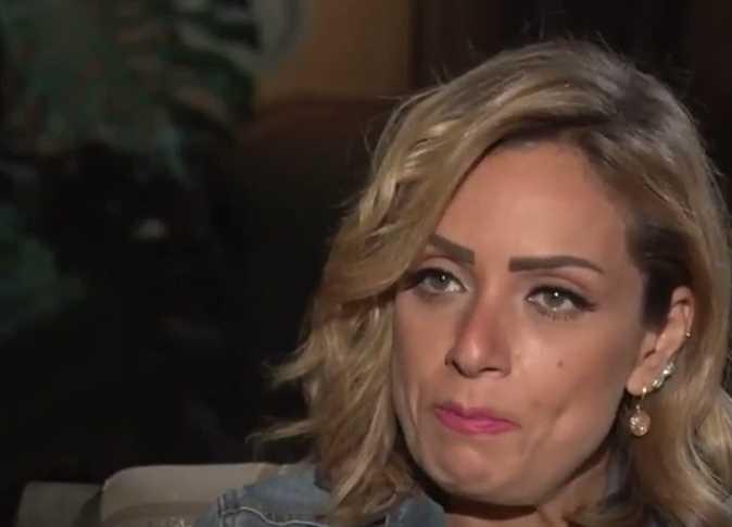 بكاء ريم البارودي في حديثها عن طلاقها من أحمد سعد وعلاقته مع