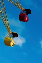 Media Bakery ID: NVC0000954 Ferris wheel in an amusement park, Stone Town, Zanzibar, Tanzania