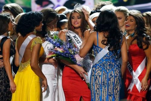Miss Nevada USA Nia Sanchez. Source: AP Photo/Jonathan Bachman