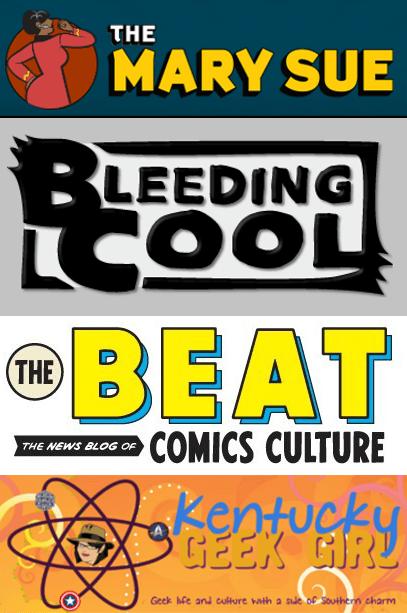 Comics blog profiles