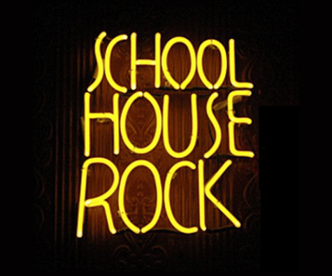 School House Rock Image modified from G. A. Carafelli/Flickr; used under CC BY-NC 2.0 license