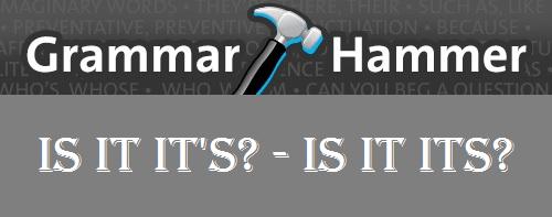 grammarhammer its
