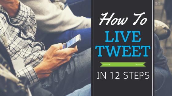 Tweeting Live