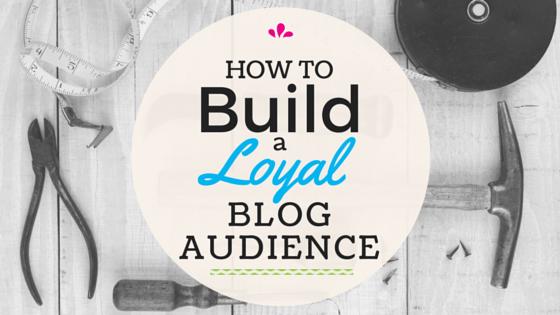 build a blog audience