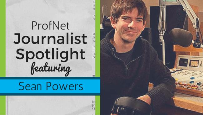 Journalist Spotlight - Sean Powers