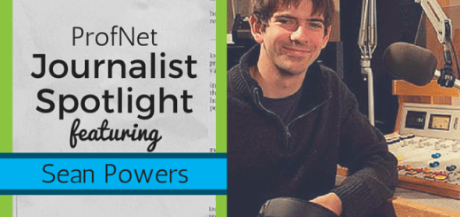 Journalist Spotlight - Sean Powers