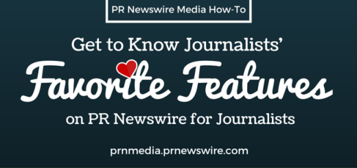 PR Newswire for Journalists How-to