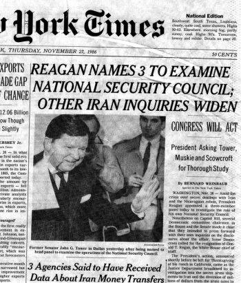 New York Times November 1986