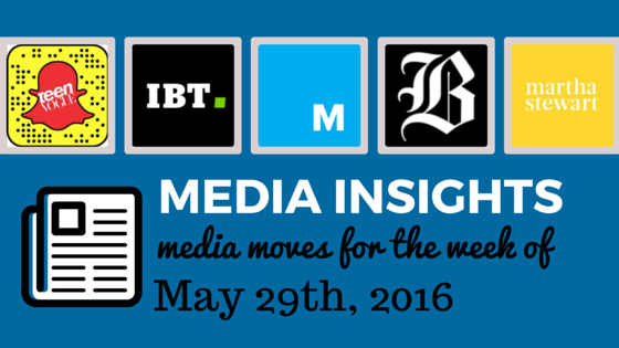INFLUENCER INSIGHTS AND MEDIA MOVES