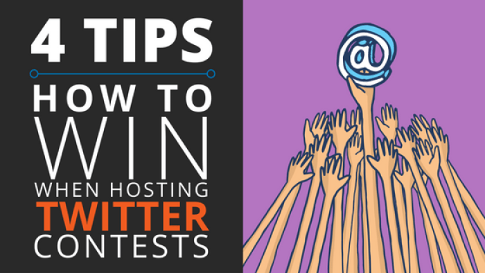 how to win when hosting a twitter contest