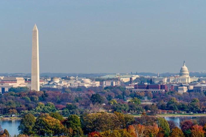 Washington DC on Inauguration Day