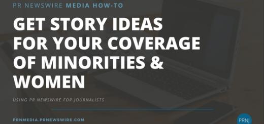 PR Newswire for Journalists
